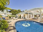 Gorgeous 6 bedroom 4 bath house in Kahala, one block from the Beach