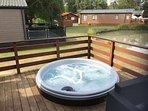 Hot Tub on Decking