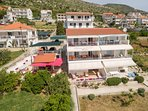 Three luxury new apartments ALENKA right on the beach and seaside promenade