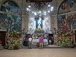 Interior del Santuario de los Milagros de Amil