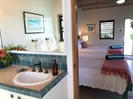 The Bali #1 Suite is spacious enough for 4 guests in two queen beds.