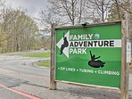 The nearby Family Adventure Park promises excitement for everyone in your group.