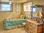 Two guests can share this room with 2 twin beds.