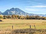Stunning mountain vistas set the ideal, outdoors retreat environment.