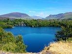 Dorothea quarry lake 5 min walk from Ashcoast House