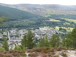 Ballater from Craigendarroch Hill