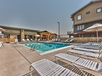 Community Heated Pool, Hot Tub and Patio Seating