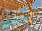 Community Heated Pool and Hot Tub