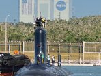 Submarine in Port Canaveral