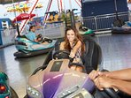 Great Rides & Games at Steel Pier Amusement Part on the Atlantic City Boardwalk! Just Minutes Away!