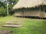 casa en  la comunidad nativa de