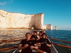 Open rowing to Old Harry Rocks