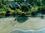 Located on an Indian Ocean Sandy Beach