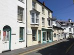 Aberdovey's side streets are full of independent shops and galleries