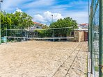 Beach sand volleyball & football playground is also included in the offer