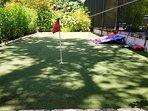 Rec area - Bocci ball, golf, bean bag toss