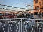 Vista del balcón.
