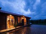 Amazing villa exterior view