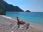 Beaches of Kefalonia: gorgeous Petani beach