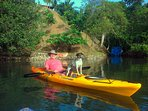 Free Use of kayaks, canoe, surfing board, snorkeling equipment and Indian style fishing tackle