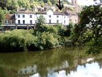 Ironbridge View Townhouse overlooking the Iron Bridge and River. Sleeps 3