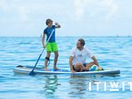 OWNERS STAND UP PADDLE BOARD (SUP) FOR USE FREE