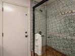 Remodeled Master Bathroom, walk-in shower