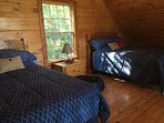 queen size beds in the loft