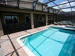 Inviting Pool & Spa
