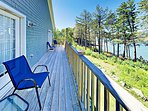 Beautiful New 1BR Condo w/ River Views at Sheepscot Harbor Resort