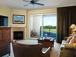 Bright + Deluxe Retreat with Private Beach Access   Great Location!