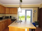 Fully equipped kitchen at Rising Sun Guest House