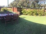 Guest Garden and BBQ