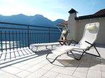 Private sun terrace.