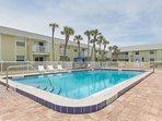 Plenty of room to enjoy the Florida sun around the pool!
