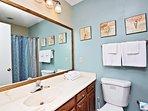 1st Level Hallway Guest Bathroom