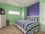 Bedroom 1 1st Floor With King Bed
