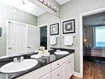 Double Granite Vanity