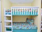 Built In Twin Bunk Beds