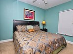 Guest Bedroom 1 with a Queen Bed
