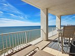 Gulf Facing Corner Balcony