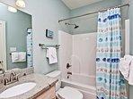 Shared Hallway Guest Bathroom 1st Floor
