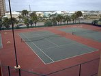 View of Tennis Court from Unit