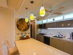 Great galley kitchen