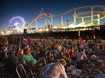 The Santa Monica Pier have their annual free concert series on Thursday's!