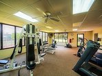Shores fitness room