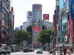 Center Shibuya just 3 mins walk!