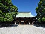 Famous Meiji Shrine