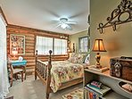 Those sharing the second bedroom will enjoy a full-sized bed.