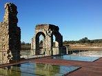 ruinas romanas de Cáparra